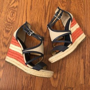Ivanka Trump | Keira Patriotic Wedge Sandals